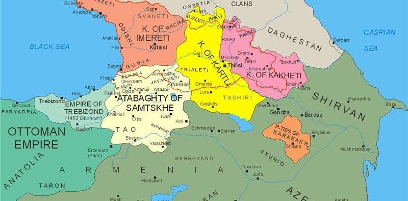 საქართველოს ისტორიულ-გეოგრაფიული კუთხეები და მხარეები