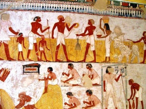 ეგვიპტური ფრესკა