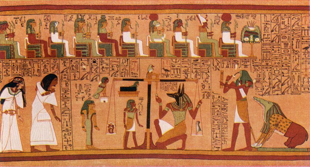 მარადისობის სახლი - ძველი ეგვიპტე