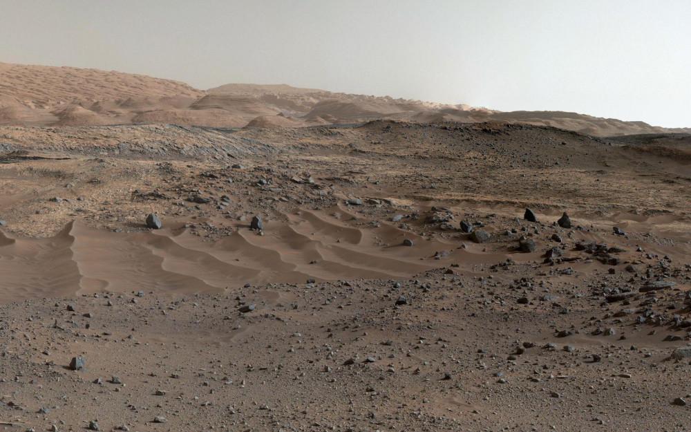 მარსის გეოლოგიური აგებულება