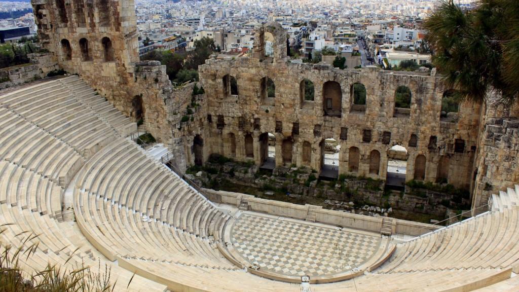 ათენის აკროპოლისი - საბერძნეთი