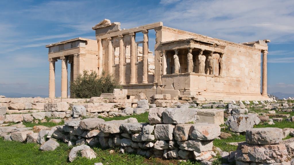ათენის აკროპოლისი - ტაძარი