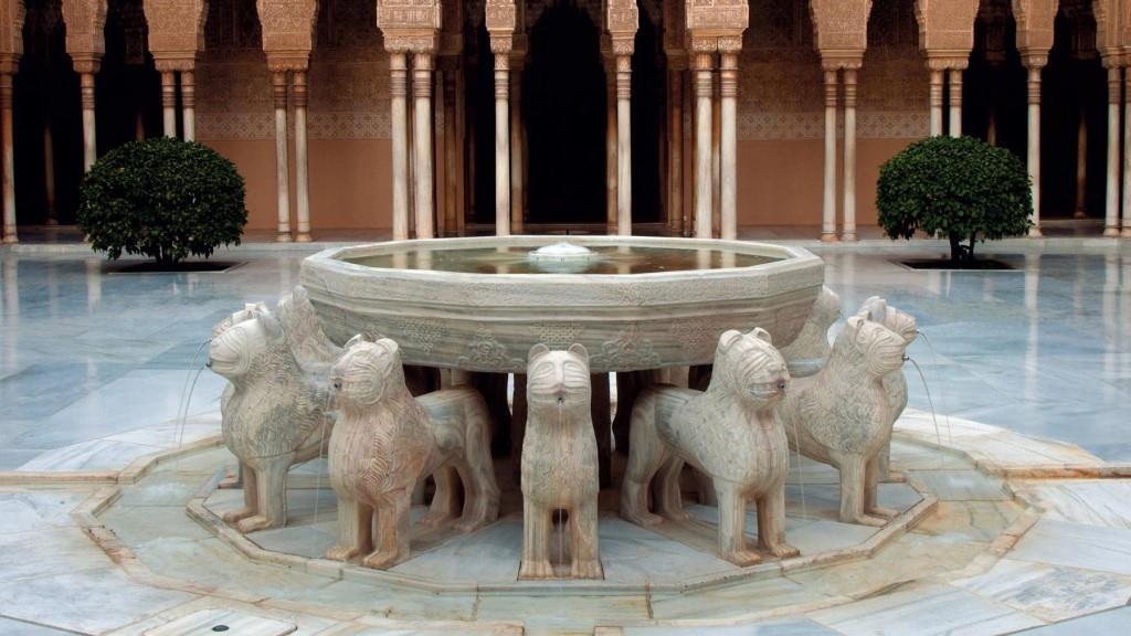 ალჰამბრა - თეთრი მარმარილოს ლომები
