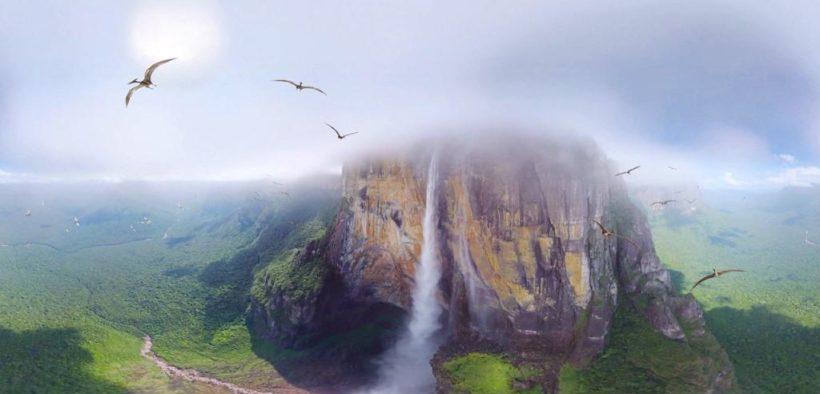 """ანხელის ჩანჩქერი: """"კერეპაკუაი მერუ"""" - ბუნების საოცრება"""