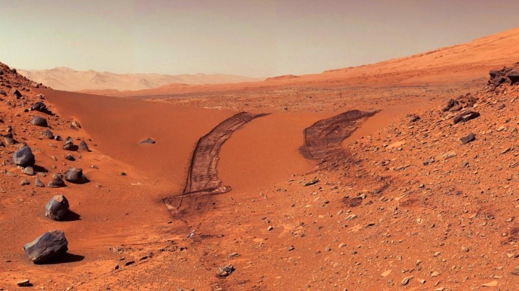მარსი - წითელი პლანეტა - ზედაპირი
