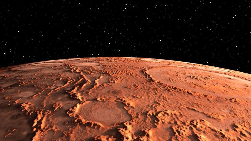 მარსი - წითელი პლანეტა
