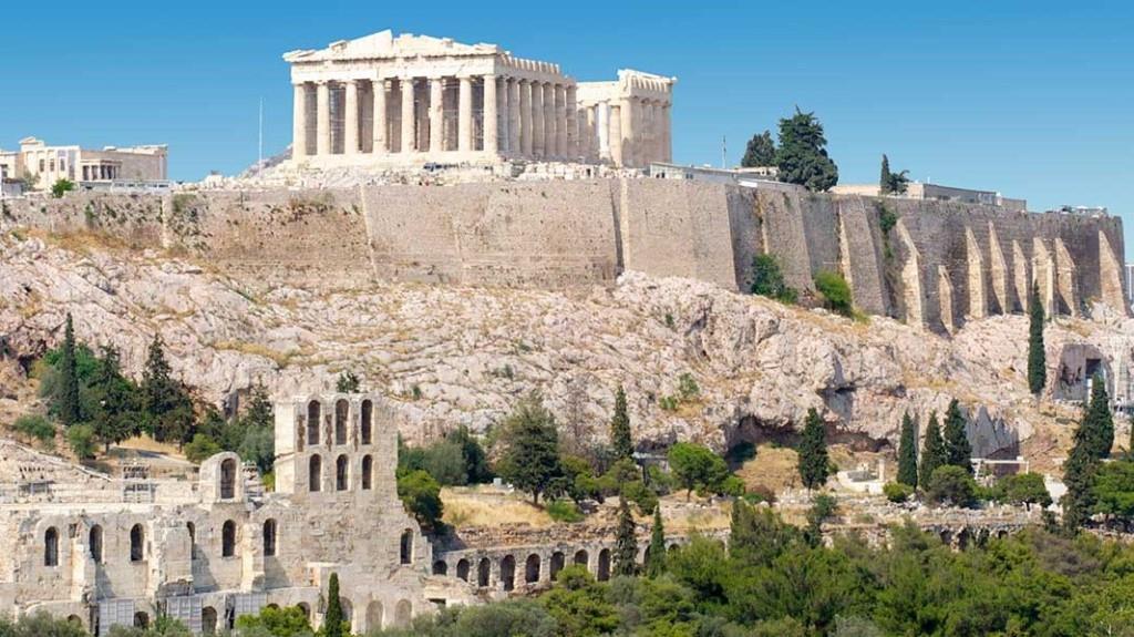 საბერძნეთი - ათენის აკროპოლისი