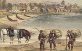 ბათუმი და შავიზღვისპირეთი ბრიტანელი საზღვაო კაპიტნის ჰაიდ პარკერის ჩანახატებში