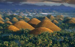 ბოჰოლის შოკოლადის ბორცვები - ფილიპინები